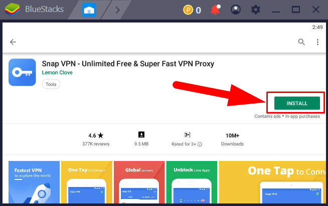 How To Download Snap vpn For PC