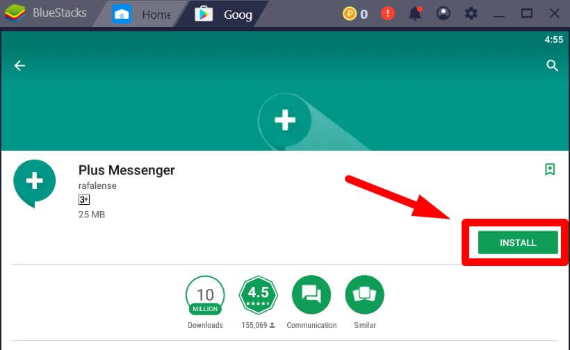 Plus Messenger for Windows PC